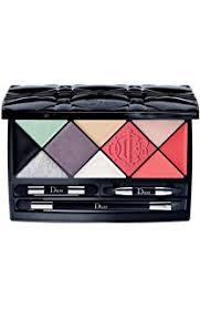 dior kingdom of colors make up palette for eye lip and face including black eyeliner