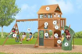 Cubby House Extensions  I Want My Wish List  Pinterest Big Backyard Ashberry Wood Swing Set