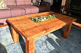 free coffee tables almost free coffee table with planter 7 steps with pictures free plans for free coffee tables