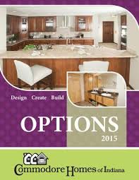 Commodore Homes of Indiana Options Brochure by The Commodore ...