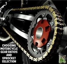 Motorcycle Gear Ratios Sprocket Selection The Veggie Biker