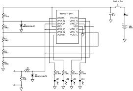 schematics com online schematic drawing tool led dc voltage indicator
