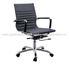 office leather chair. China Office Leather Executive Computer Chair, Metal Base, Nylon Castors Chair C
