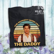 Find the perfect brendan fraser the mummy stock photo. Brendan Fraser The Mummy More Like The Daddy T Shirt Etsy