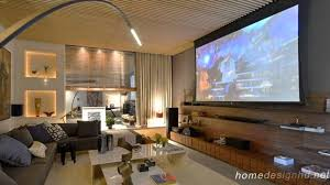 ... Living Room, Elegant And Affordable Home Cinema Room Ideas Living Room  Movie Theater Portland Or ...