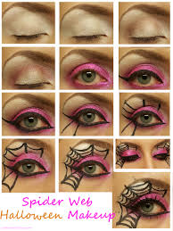 spider web makeup for almosther spiderweb makeup