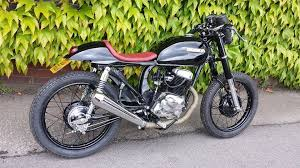 honda cd200 benley cafe racer project now finished