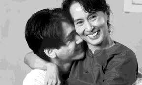 aung san suu kyi my hero aung san suu kyi and her son kim mforum cari com