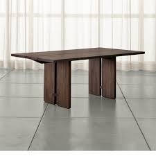 dining room kitchen tables crate and barrel quoet folding table simplistic 5