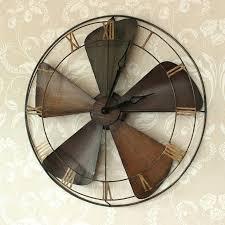 large wall clocks uk best vintage wall clocks ideas on large vintage large industrial vintage fan