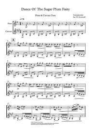 dance of the sugar plum fairy sheet music dance of the sugar plum fairy flute clarinet duet stuff to buy