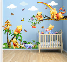 ... Ideas Along With Winnie Pooh Wallpapers Decorating Bedrooms With · U2022.  Dazzling ...
