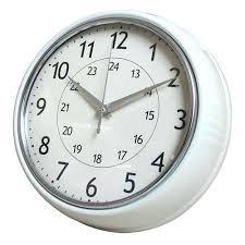 <b>Часы настенные</b> Cr.<b>White</b> d24 см <b>белые</b> купить недорого в ...
