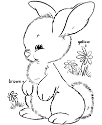 Coloring is a fun way for kids to be creative and learn how to draw and use the colors. Bunny Coloring Pages Free Printable Coloring Home