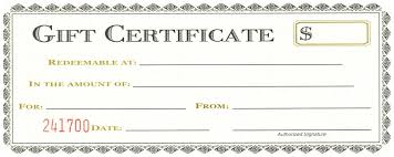 Gift Certificate Word Template Template Word Template For Gift Certificate 4