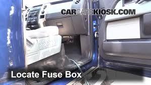 interior fuse box location 2009 2014 ford f 150 2012 ford f 150 2012 F150 Fuse Box locate interior fuse box and remove cover 2012 f150 fuse box diagram