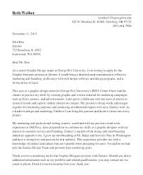 Web Design Cover Letter Example Web Designer Cover Letter Examples