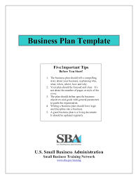 small business startup plan sample small business plan template