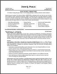 Healthcare Resume Amazing 8423 Consulting Resume Samples Healthcare Consulting Best Consulting