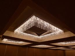 great low profile chandelier with lots of sparkle and glamour within most cur ballroom chandeliers