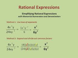 source slideplayer com fig simplification of rational expression