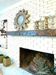 fireplace shelf ideas mantel for brick medium size of how to update a stone fireplace shelf ideas rustic mantel