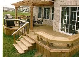 backyard ideas deck. 4 tips to start building a backyard deck ideas