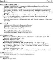 Brilliant Ideas of Social Worker Resume Samples Free With Additional Sheets