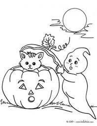Small Picture Halloween witches and cat coloring pages Holiday Halloween