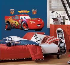 Lightning Mcqueen Bedroom Accessories Roommates Rmk1518gm Disney Pixar Cars Lightning Mcqueen Peel And