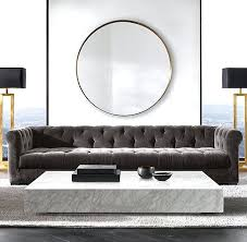restoration hardware marble coffee table plinth interior design