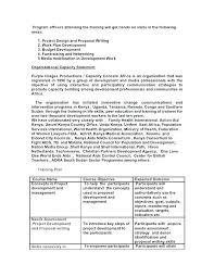 Sample Budget Plan For Non Profit 14 15 How To Write A Budget Proposal Se Chercher Com