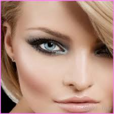 blue eyes people and eye makeup for gray eye color grey