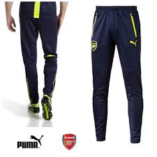 puma mens tracksuit. arsenal puma mens afc training pants tracksuit bottoms navy track pant small new