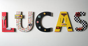 Disney Cars Bathroom Accessories Disney Cars Wall Letters 8 3d Custom Wall Letters