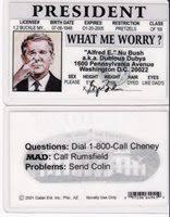 Mad George Bush W President Dr Magazine Neuman Alfred E