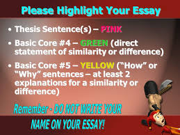 "writing a ""killer"" compare contrast essay ppt video online  please highlight your essay"
