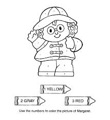 Kleurplaat Kleurplaat Litte People 15 9922 Kleurplaten