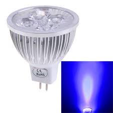 12v Blue Light Amazon Com Chinatera New Mr16 4w 12v Blue Light Led