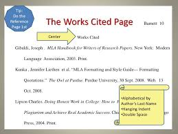 How To Write A Works Cited Page For Websites