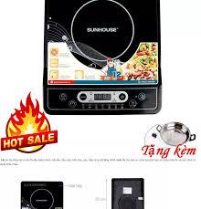 bếp từ sunhouse, bếp từ đơn, bếp từ mini - Bếp điện từ cơ 1800W, Chế độ