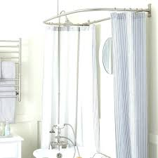 clawfoot tub shower curtain solutions shower curtains tubs recommendation idea shower curtain tub rim mount tub