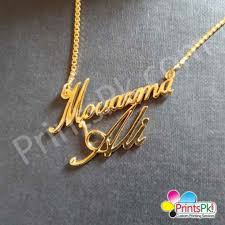 customized name necklace name locket
