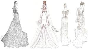 How To Design Your Wedding Dress How To Design A One Of A Kind Wedding Dress