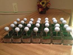 Golf Ball Decorations Golf Ball Table Decorations for 60th Birthday ParTee Ron's 21
