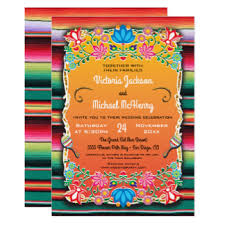 mexican wedding invitations. mexican wedding rug and floral invitation invitations