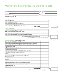 Sample Business Expense Report Form 8 Free Documents In Pdf