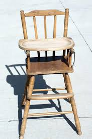 formidable antique baby high chair wooden furniture s ashley