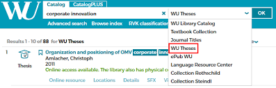 bibliothek searching for theses use the advanced search options to filter your results for thesis papers see example below you can search by the s of assessors supervisors
