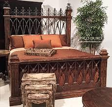 Western Rustic Beds Western Bedroom Furniture